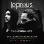 MOURNING SUN anuncia alineación para próximo show con LEPROUS