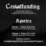 ¡Ha empezado el Crowdfunding para EVIL CONFRONTATION FESTIVAL 2020!
