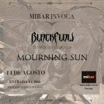 BLACK FLOW & MOURNING SUN - Noche de Doom Metal en Santiago
