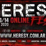 HERESY ONLINE FEST: Festival Online de Metal Latino