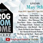 """Grandes artistas del progresivo reunidos en streaming especial """"Prog From Home"""""""