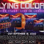 """FLYING COLORS anuncia DVD/Blu-ray en vivo """"Third Stage: Live in London"""""""
