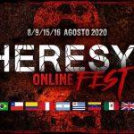 Se anuncia segunda edición del HERESY ONLINE FEST