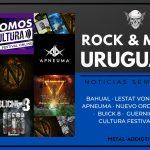 Novedades del ROCK y METAL URUGUAYO: 29 de Junio al 05 de Julio 2020