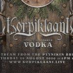 KORPIKLAANI anuncia su propio vodka y livestreaming para agosto