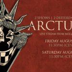 ARCTURUS anuncia live stream de sus próximos shows