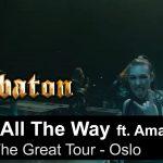 SABATON estrena nuevo video en vivo junto a AMARANTHE