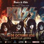 Concierto de KISS en Chile ya tiene nueva fecha